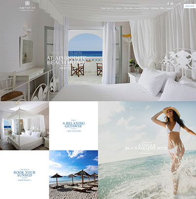 Aphrodite Mykonos Beach Hotel